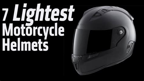 7 Lightest Motorcycle Helmets Available   RideApart