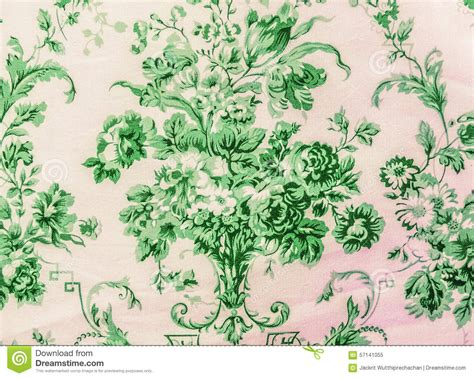 clipart vintage style floral pattern retro lace floral seamless pattern green fabric background