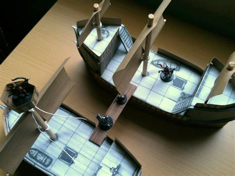 Papercraft Pirate Ship - perils of the pirate pact papercraft ships by cyxodus on