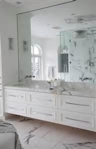 white vanity mirror for bathroom floating vanity transitional bathroom the