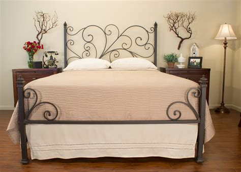 Handmade Iron Beds - avery iron bed st helena home handmade iron beds