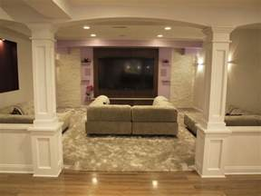 Ideas For Basement Renovations Basement Columns Ideas Basement Finishing And Basemen Remodeling Ideas Basement