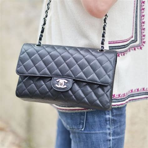 Bag Tas Chanel Navy timeless chanel my favorite small classic flap black