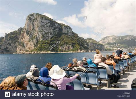 hydrofoil boat amalfi coast island of capri near sorrento amalfi coast italy italian