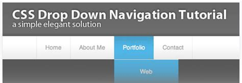 tutorial menu css jquery 20 great css jquery navigation menu tutorials web