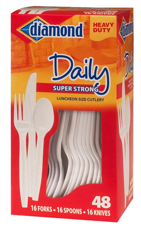 Box Of Plastic Forks - brands 174 plastic cutlery