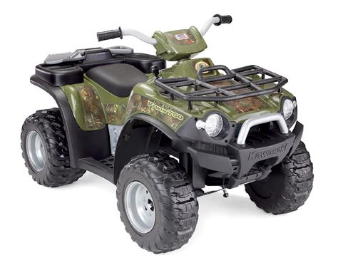 Kawasaki Ride On by Power Wheels Kawasaki Brute Camouflage Toys