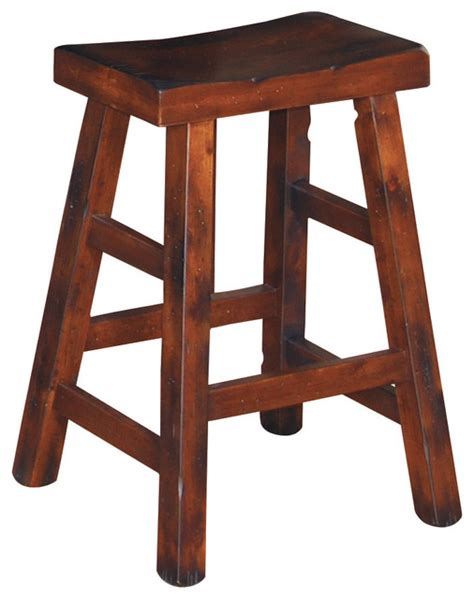bar stools traditional santa fe saddle stool counter height traditional bar