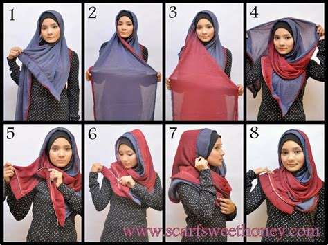 tutorial hijab casual anak muda tutorial hijab modis dengan berbagai style part of mine