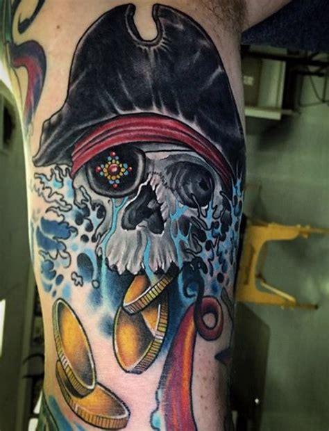 tattoo pirate cartoon cool pirate disign part 3 tattooimages biz