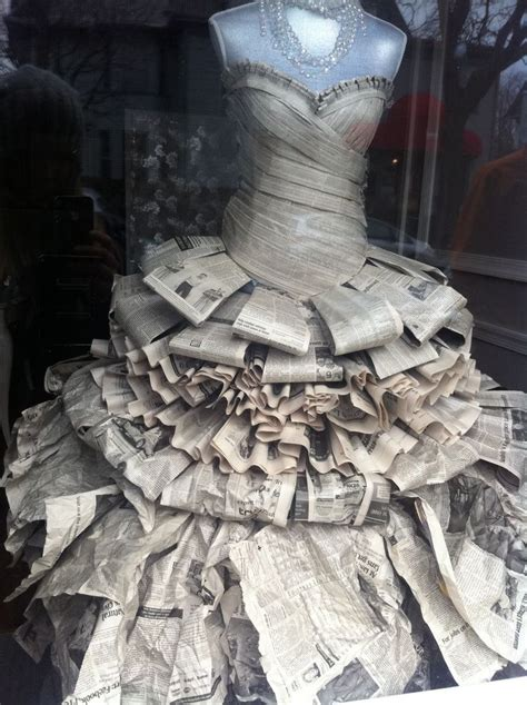 How To Make A Mannequin Out Of Paper Mache - risultati immagini per how to make a newspaper dress how