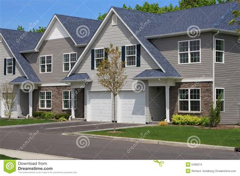 town houses town houses stock images image 5183274