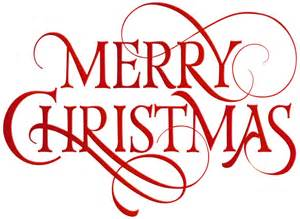 Merry christmas red transparent png clip art