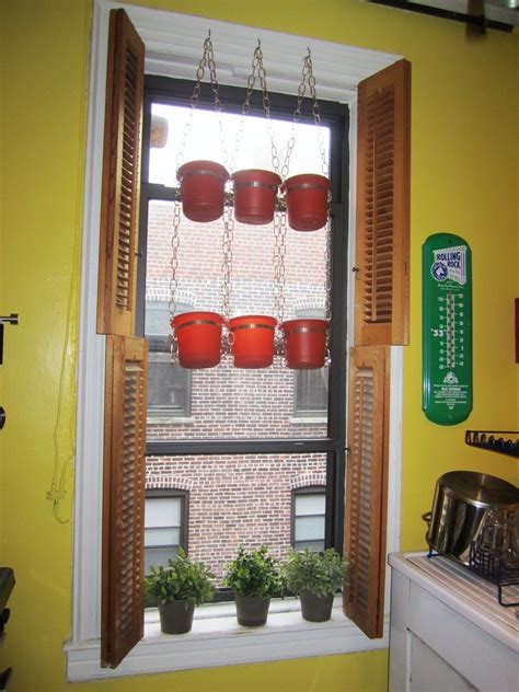 hanging window herb garden save yourself a trip to the market build your own hanging
