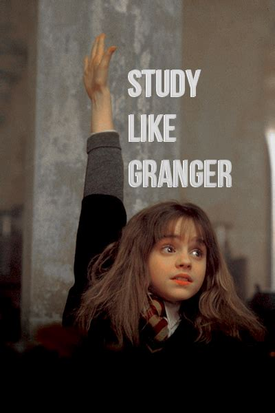 How To Study Like Hermione Granger by Quot Study Like Hermione Granger Quot Shared By Ekin On We It