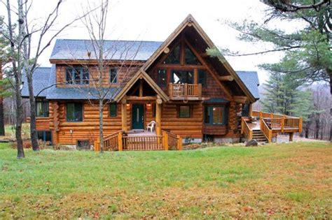 New York State Cottages For Sale by Log Home Upstate New York Home For Sale