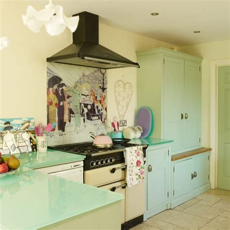 style at home range cooker vintage inspired home house tour