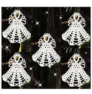 Crochet Christmas Angel Ornament Pattern Crochet Ornament