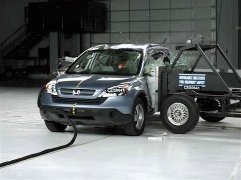 Honda Crv Crash Tests by 2007 Honda Crv Crash Test