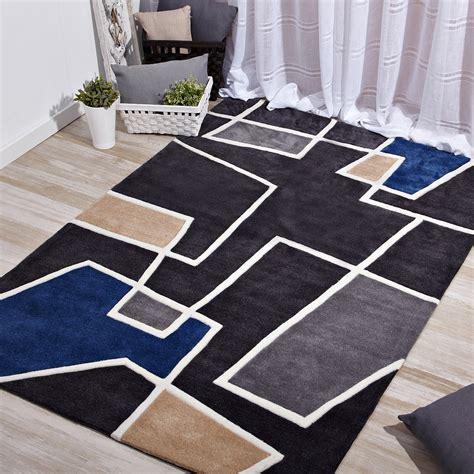 alfombras baratas alfombra decorativa negra poliester comprar
