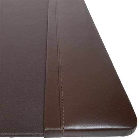 large leather desk mat brown leather desk pad hostgarcia
