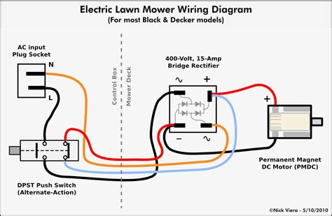 pictures of diagrams pictures electric lawn mower wiring diagram nick viera