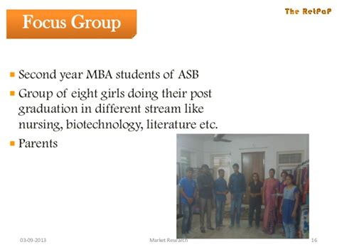 Mba Research Focus Groups by To Run A Robust Model Of Career Counselling