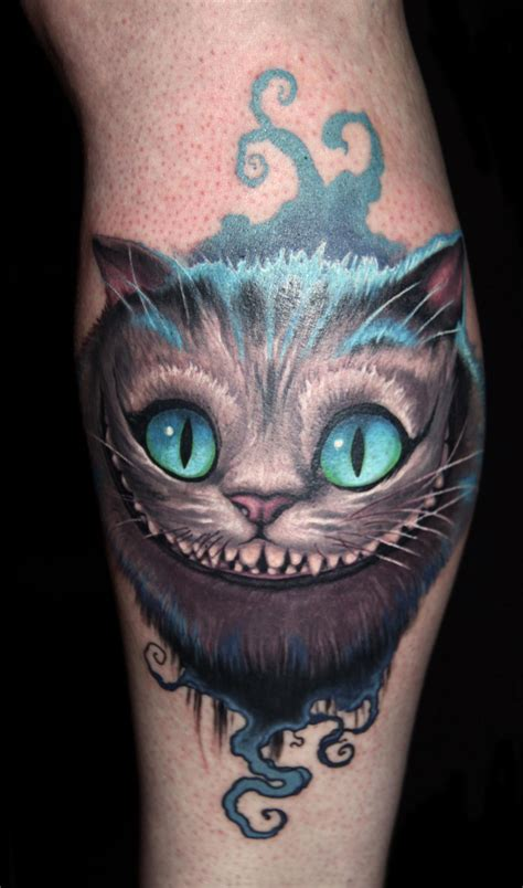 cheshire cat tattoos take a walk in with these cheshire cat tattoos