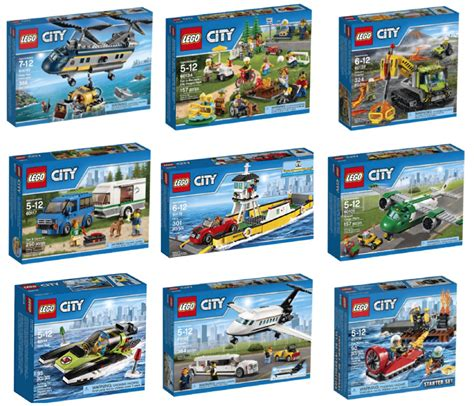 City Set deal of the day 3 lego city sets
