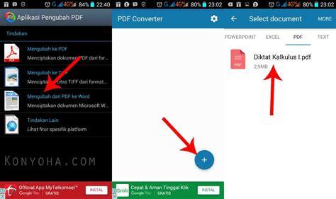 converter pdf ke word gratis cara convert pdf ke word dengan hp android gratis dan cepat