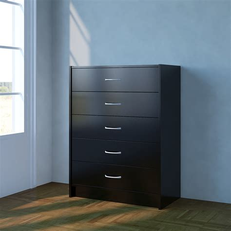 Drawer Runners For Chest Of Drawers Chest Of Drawers Black Bedroom Furniture 5 Drawer Metal