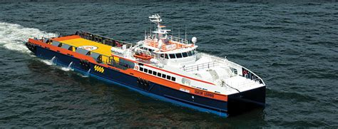 trimaran workboat seacor marine partners with cosco shipping on eight psvs