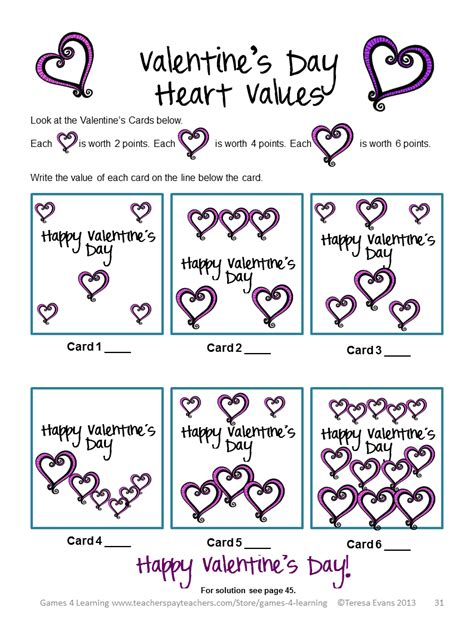 4 learning s day math freebies