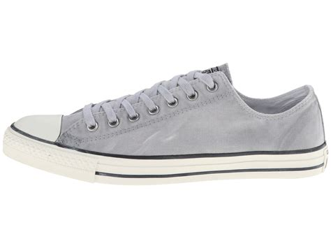 Convers White Ox lyst converse chuck 174 all 174 white wash ox in gray