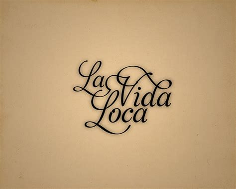 la vida loca on behance
