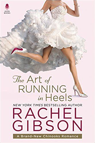 Gibson Giveaway - review the art of running in heels by rachel gibson giveaway escape reality