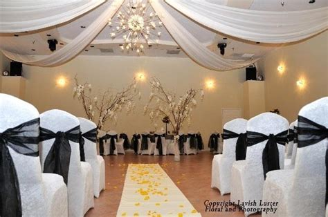 Black And White Decorations by Unique Black And White Wedding Ideas On A Budget