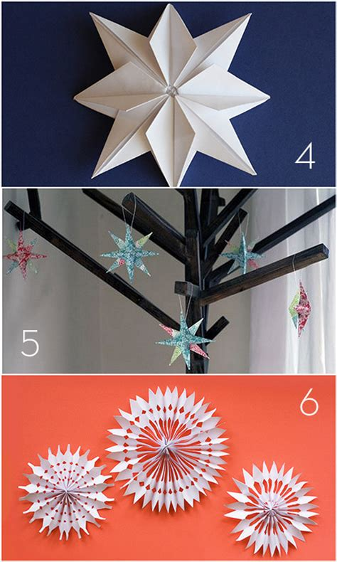 roundup 15 diy paper holiday decor projects 187 curbly
