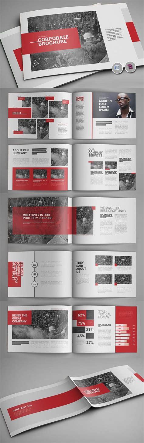 booklet layout pinterest 25 best ideas about brochure design on pinterest