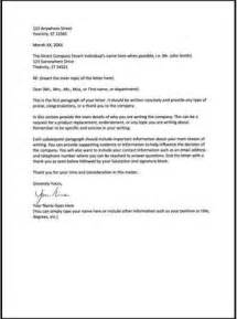 Business Letter Format With Re Line Yours Sincerely Business Letter Business Letter