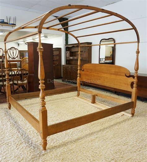 ethan allen king beds ethan allen king size canopy bed with baluster turned posts