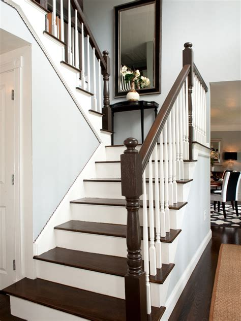 White Banister Rail by White Stair Railing Design Ideas Pictures Remodel And Decor