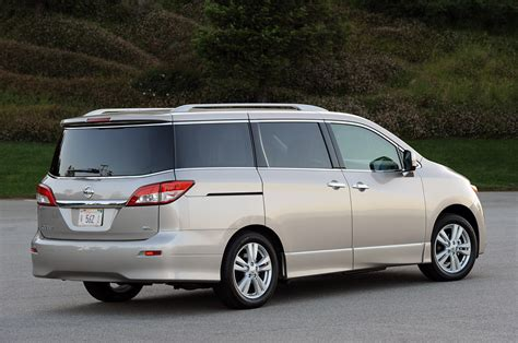 nissan minivan 2011 nissan quest review photo gallery autoblog