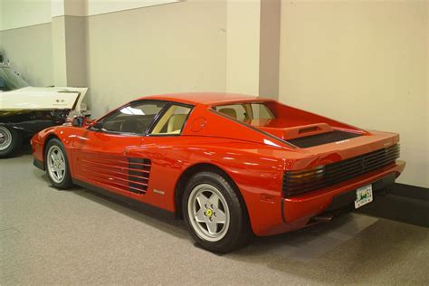 ferrari coupe rear 1989 ferrari testarossa coupe 81597