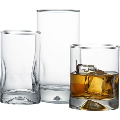 Crate And Barrel Barware by Impressions Glasses Crate And Barrel
