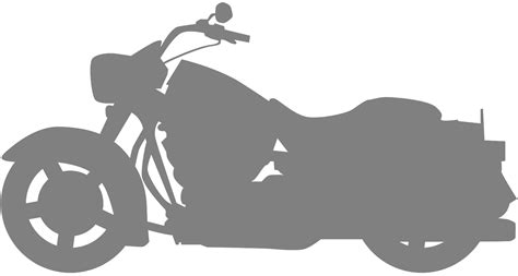 Motorrad Silhouette by Harley Davidson Silhouette Free Vector Silhouettes