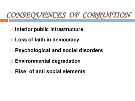 Effect Of Bribery Essay by Essay On Effects Of Corruption On Society Apaabstract X Fc2