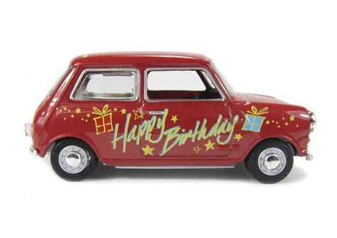 Berkualitas Register Mini Happy hattons co uk oxford diecast 43min017 mini car quot happy birthday quot