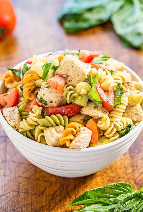 chicken pasta salad italian chicken pasta salad 25 recipes that combine 2 of