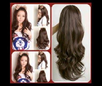Hairclip Bando Wig jual wig murah hairclip murah grosir eceran half